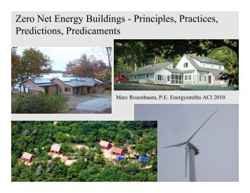 Zero Net Energy Principles (PDF 1.8 MB) - Energysmiths