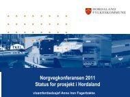 Ny hamn for nye tider - Norvegfinans
