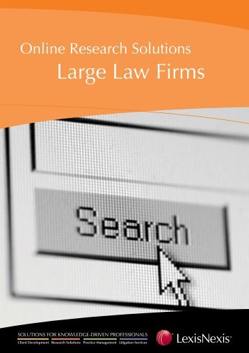 Large Law Firms - LexisNexis