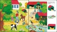 Wo wohnen die Tiere? Setze die Tiere zu ihrem Zuhause!
