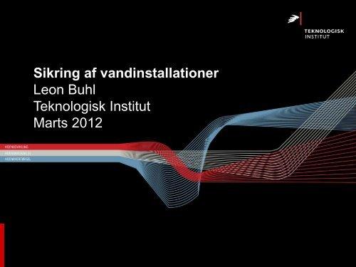 Præsentation (pdf) - Aarhus Vand