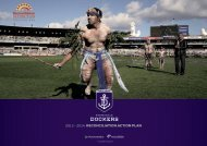 Reconciliation Action Plan - Fremantle Football Club