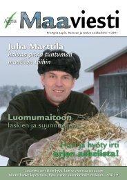 1/2011 - ProAgria Oulu