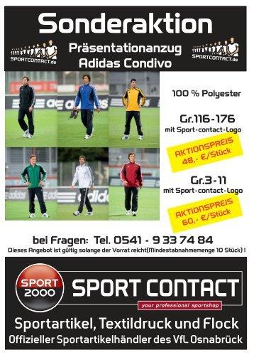 Praesentationsanzug-Adidas-Condivo - Sport Contact