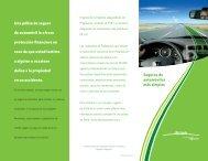 Seguros de automóviles más simples Una póliza de seguro de ...
