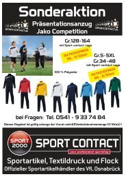 Praesentationsanzug-Jako-Competition - Sport Contact