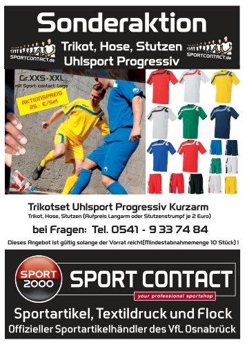 Trikotset Uhlsport Progressiv - Sport Contact