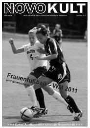 Frauenfußball–WM2011 - Deutsche in Novosibirsk