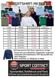 Per Post: Sport contact,  Sandforter Str. 164, 49086 Osnabrück, Per Fax