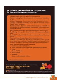 AUGUST 2012 Western India Chartered Accountants Newsletter