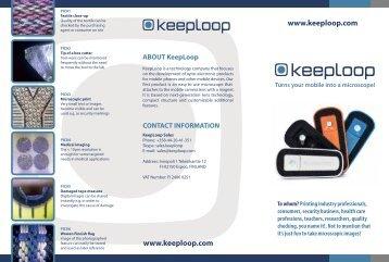 KeepLoop Mobile Microscope - BRSL
