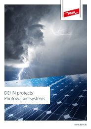 DEHN protects Photovoltaic Systems