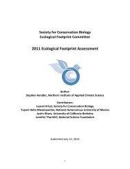 SCB's 2011 Ecological Footprint Assessment (858kb pdf)