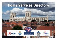 City of York Council - The MJ Awards