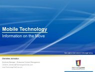 Mobile Technology - Records and Information Management ...