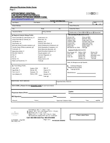 Medication Policy And Physician Order Form  Summerville High