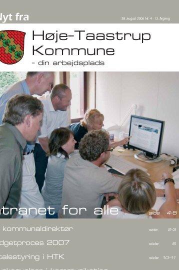 Personaleblad 1-24 august 2006.qxd - Høje-Taastrup Kommune
