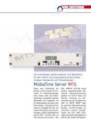 MobaTime Server MTS