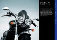 Accessories for your Triumph Rocket III Roadster