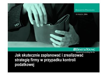 Jak skutecznie zaplanowac i zrealizowac strategie ... - Ernst & Young