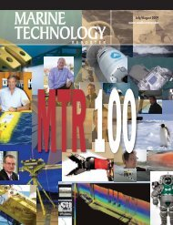 Marine Technology Reporter - Ning