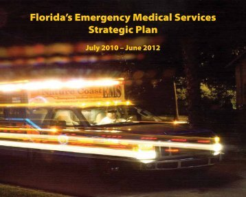 Florida's Emergency Medical Services Strategic Plan