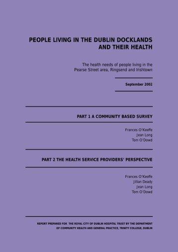 layout report - School of Medicine - Trinity College Dublin