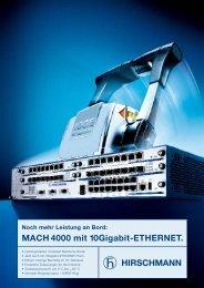MACH 4000 mit 10Gigabit-ETHERNET.