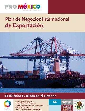 Plandenegociosinternacionaldeexportacion