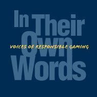Download - National Center for Responsible Gaming