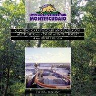 Download Brochure PDF - Camping Village Montescudaio