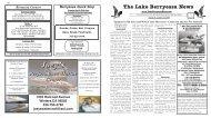8/06/09 - Lake Berryessa e-News