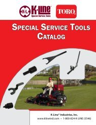 the pdf version of our latest toro catalog - K-Line Industries, Inc.