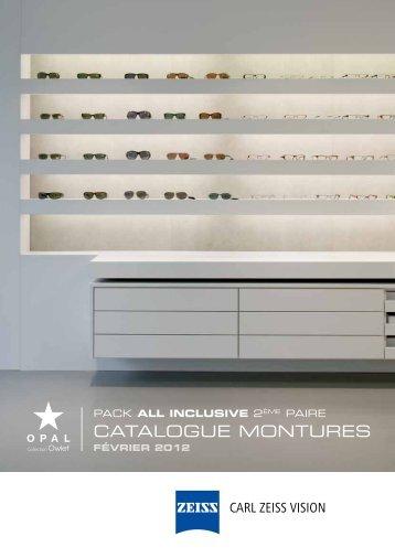 Catalogue montures - Carl Zeiss SAS