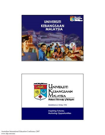 universiti kebangsaan malaysia universiti kebangsaan malaysia