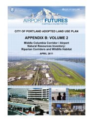 APPENDIX B: VOLUME 2 - PDX Airport Futures