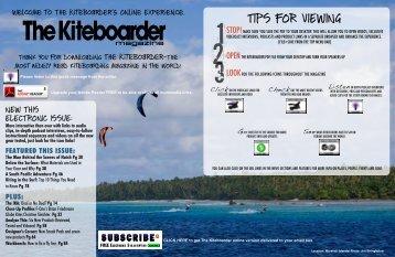 April 2009 - The Kiteboarder Magazine