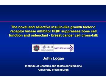 the novel and selective insulin-like growth factor-1 receptor kinase ...