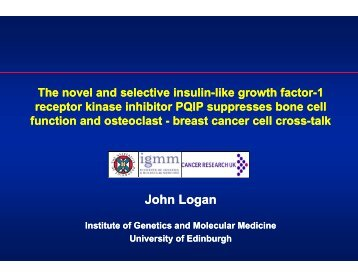 the novel and selective insulin-like growth factor-1 receptor kinase ...