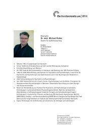 Dr. med. Michael Bohne - Orchesterzentrum NRW