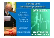 Blutgerinnung - Bvs-waldsassen.de
