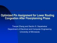Optimized Pin Assignment for Lower Routing Congestion ... - SLIP