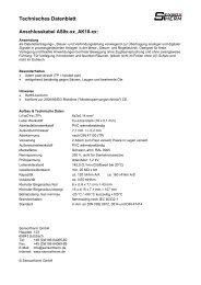 Technisches Datenblatt - Sensortherm GmbH