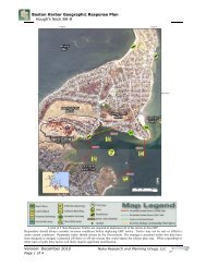 BH-8 Hough's Neck - Massachusetts Geographic Response Plans