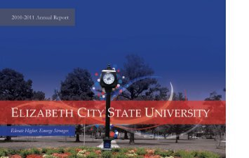 2010-11 Annual Report - Elizabeth City State University
