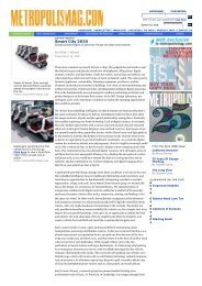 Smart City 2020 | Metropolis Magazine - MIT SENSEable City Lab