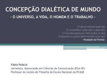 concepção dialética de mundo - Fundação Maurício Grabois