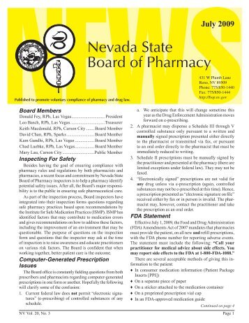 state board of pharmacy