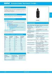 Schutzschalter thermisch 2-4100-... 1