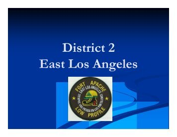 District 2 - Los Angeles County Disaster Communications Service